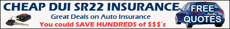 Valley City North Dakota DUI SR22 Auto Insurance - High Risk Auto Insurance